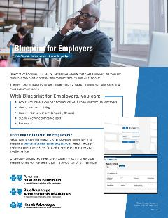 Blueprint for employers flyer cover